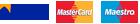 Visa/Visa Electron, MasterCard, Maestro